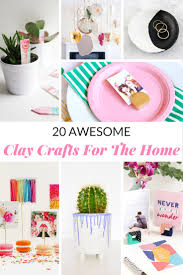 20 awesome clay crafts for the home mommy moment