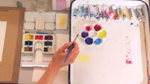 watercolor 101 mixing your colors youtube