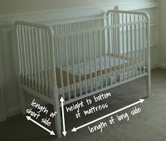 Size Of A Crib Mattress Crib Dimensions Crib Dimensions Ikea Alternate View Alternate