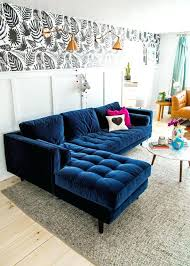 deep blue velvet sofa navy blue couch awesome navy blue couches about remodel living room