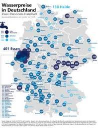 enorme unterschiede in deutschland bis wasserkosten in deutschen städten extrem unterschiedlich