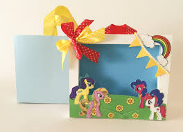 My Little Pony Gift Wrapping Paper - buy my little pony frame with bag 12 pack u2022 of dawn crafts