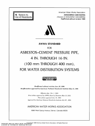 awwa c400 1993 pdf pipe fluid conveyance engineering tolerance