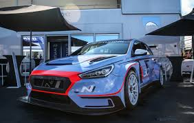 news hyundai shows off race spec i30 n tcr at nurburgring