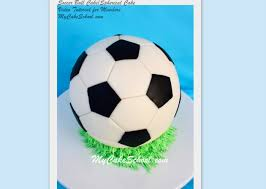 soccer ball tutorial u0026 how to make a round cake video soccer