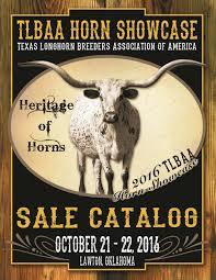 tlbaa horn showcase sale catalog by texas longhorn trails magazine
