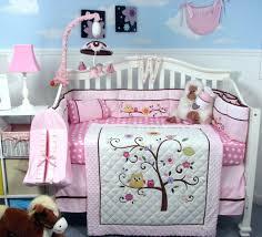 Crib Bedding Owls Purple Owl Crib Bedding