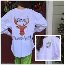 monogram christmas shirt christmas shirts pom pom pullover