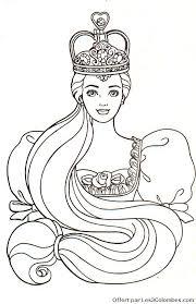 coloriage enfant princesse az coloriage