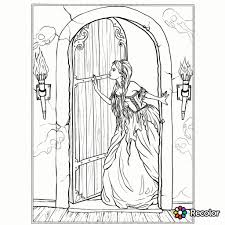 holly hobbie coloring pages gothic coloring page fantasy coloring pages for adults