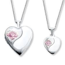 mothers necklaces necklaces heart with sterling silver