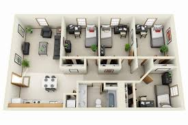 bedrooms floor plans for apartments 3 bedroom ideas and three
