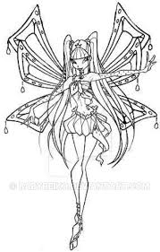 Musa Enchantix By Babyreiko On Deviantart Winx Club Musa Coloring Pages
