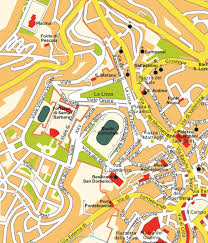 Italy Cities Map by Map Siena Toscana Italy Maps And Directions At Map