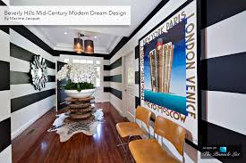 beverly hills mid century modern dream design by maxime jacquet