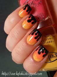 nail design center sã d flames these must be mine fingernail