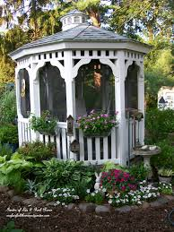 Gazebo Garden by Summer Glory Mid August In My Country Cottage Garden Our