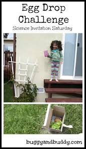 Challenge Drop On Egg Drop Challenge And Free Planning Printable Science Invitation