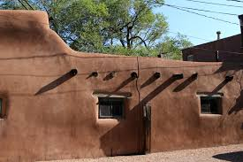 adobe style home new mexico pueblo style adobe home in santa fe photo by architect