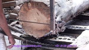 horizontal saw mill wood cutting complete automation optional