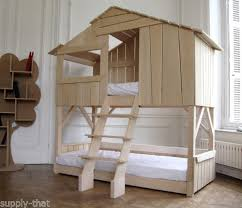 Bunk Bed Ebay Quality Solid Wood Children S Play House Tree House High