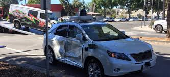 google images car self driving car has been involved in its worst crash yet