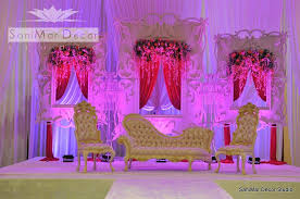 Curtains Wedding Decoration Sanimar Decor Studio