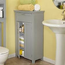 Bathroom Linen Storage by 3 Adjustable Shelves 2 Door Bathroom Linen Storage Floor Cabinet