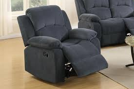 Grey Rocking Recliner Grey Fabric Rocker Recliner Chair Steal A Sofa Furniture Outlet
