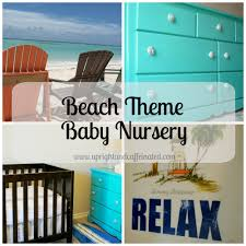 beach theme baby nursery surf inspired upright and caffeinated