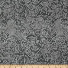 essential dotty waves 108 wide quilt back gray discount