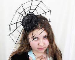 Spider Witch Halloween Costume Spiderweb Hat Spider Headpiece Halloween Costume