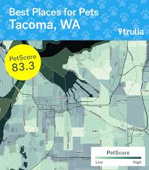 Trulia Map Tacoma Outpaces Seattle In Pet Friendliness Ranking Curbed Seattle