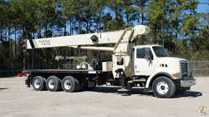 used national 1400h boom truck crane for in houston texas on