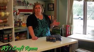 how to set up a craft room aj u0027s craft room youtube