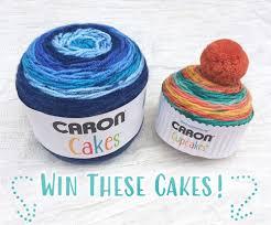 giveaway win caron cakes yarn
