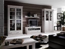 Wohnzimmerschrank Nordisch Euro Diffusion Wohnwand 4 Tlg Massivholz Versch