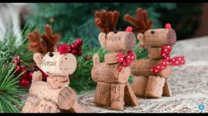 reindeer wine cork diy ornament simplemost