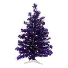 purple pre lit trees you ll wayfair