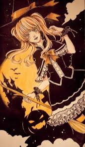 anime happy halloween 281 best witches images on pinterest witches witch art and