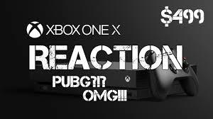 pubg xbox one x only xbox one x reaction pubg take my youtube