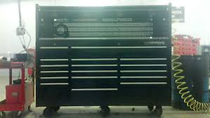 Tool Box Top Hutch Matco 4s Three Bay Tool Box With Hutch And Stainless Steel Top Ebay