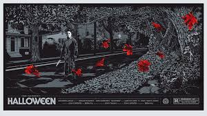 halloween michael myers mondo movie poster by ken taylor milners