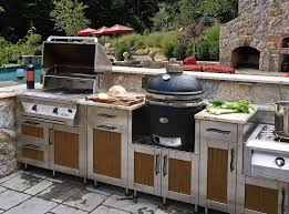 outdoor kitchens ideas pictures outdoor modular outdoor kitchen ideas with stainless cabinet and