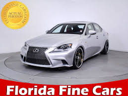 lexus sedan 2014 used 2014 lexus is 350 f sport sedan for sale in miami fl 86016