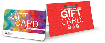 corporate gift card frasers centrepoint malls