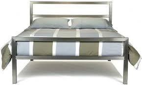 bed stainless steel bed frame home interior decorating ideas