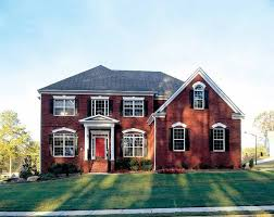 two colonial house plans 107 best house plans images on bedrooms country
