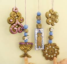 make gorgeous chanukah decorations from baker s clay creative