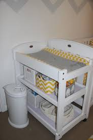change table mat project nursery part 2 u2026oscar u0027s yellow and grey chevron nursery